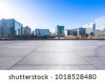 empty marble floor with... | Shutterstock . vector #1018528480