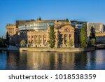 Building Of Sweden Parliament ...