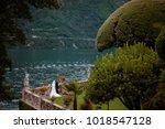 villa balbianello wedding...   Shutterstock . vector #1018547128