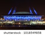 saint petersburg  russia  ...   Shutterstock . vector #1018549858