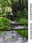 The Old Water Mill And Stream...