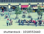 berlin  germany   august 26 ... | Shutterstock . vector #1018552660