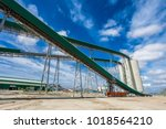 platinum mining and processing... | Shutterstock . vector #1018564210