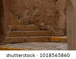 ancient stairs in stone old...   Shutterstock . vector #1018565860