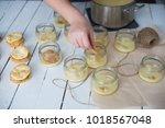 home made desserts | Shutterstock . vector #1018567048