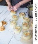 home made desserts | Shutterstock . vector #1018567144
