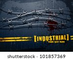 Industrial Background With...