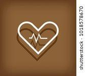 heart vector icon  love symbol. ...