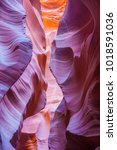 lower antelope canyon | Shutterstock . vector #1018591036