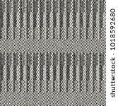 abstract monochrome discrete... | Shutterstock .eps vector #1018592680