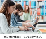 young office workers and... | Shutterstock . vector #1018594630