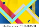 vector abstract background... | Shutterstock .eps vector #1018604530