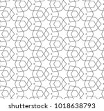seamless vector pattern in... | Shutterstock .eps vector #1018638793