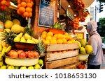 tel aviv  israel   december 28  ...   Shutterstock . vector #1018653130