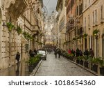 italy rome 01 january 2018 a...   Shutterstock . vector #1018654360