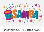 samba event in brazil. carnival ...   Shutterstock .eps vector #1018657600