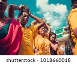 kuala lumpur  malaysia  ... | Shutterstock . vector #1018660018