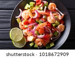 Spicy Shrimp Ceviche With...
