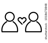 love and relationship icon....