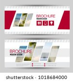set of banners for web... | Shutterstock .eps vector #1018684000