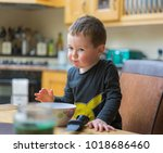 editorial use only  cute child... | Shutterstock . vector #1018686460
