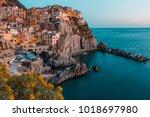 manarola  cinque terre  liguria ...   Shutterstock . vector #1018697980