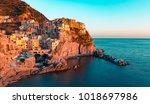 manarola  cinque terre  liguria ...   Shutterstock . vector #1018697986