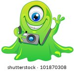 Slime Clip Art Vector Slime 1 Graphics Clipart Me