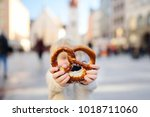 little tourist holding...   Shutterstock . vector #1018711060