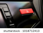emergency button in the modern... | Shutterstock . vector #1018712413