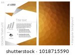 dark brown vector  template for ...