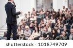 successful businessman holds...   Shutterstock . vector #1018749709