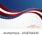 abstract image of the american... | Shutterstock .eps vector #1018766320
