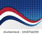 abstract image of the american... | Shutterstock .eps vector #1018766350