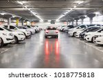 blurred photo of cars in the... | Shutterstock . vector #1018775818