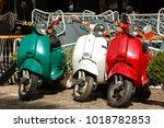 Three Vintage Scooter Italian...