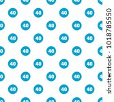 forty figure pattern seamless... | Shutterstock .eps vector #1018785550