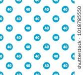 forty figure pattern seamless... | Shutterstock .eps vector #1018785550