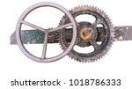 Old Gear And Rusted Cogwheel...