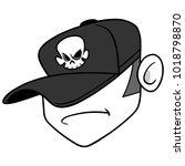 dj badass illustration   a...   Shutterstock .eps vector #1018798870