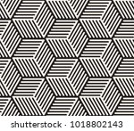 vector seamless pattern. modern ... | Shutterstock .eps vector #1018802143