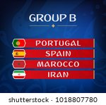 football championship groups.... | Shutterstock .eps vector #1018807780