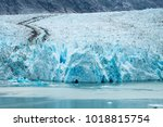 sawyer glacier in tracy arm... | Shutterstock . vector #1018815754
