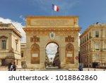 montpellier  france   april 27  ... | Shutterstock . vector #1018862860