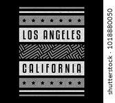 california. los angeles. retro... | Shutterstock .eps vector #1018880050