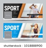 set of covers for social... | Shutterstock .eps vector #1018888900