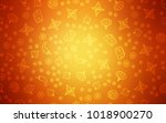 light orange vector layout with ... | Shutterstock .eps vector #1018900270