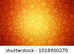 light orange vector layout with ... | Shutterstock .eps vector #1018900270
