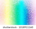 light multicolor  rainbow... | Shutterstock .eps vector #1018911160