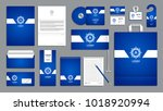 corporate identity branding... | Shutterstock .eps vector #1018920994